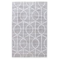 Jaipur City Seattle 9-Foot x 12-Foot Area Rug in Grey/Ivory