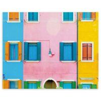 Masterpiece Art Gallery Burano VI 16-Inch x 20-Inch Canvas Wall Art