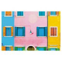 Masterpiece Art Gallery Burano VI 24-Inch x 36-Inch Canvas Wall Art