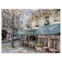Masterpiece Art Gallery Bistro de Paris I 30-Inch x 40-Inch Canvas Wall Art