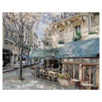 Masterpiece Art Gallery Bistro de Paris I 22-Inch x 28-Inch Canvas Wall Art