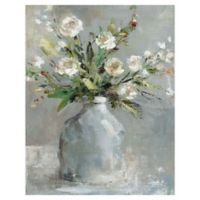 Country Bouquet I 22-Inch x 28-Inch Wrapped Canvas Wall Art