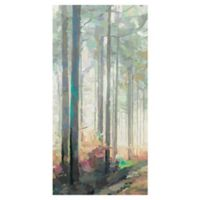 Woodland Journey Panel II 17-Inch x 34-Inch Wrapped Canvas Wall Art