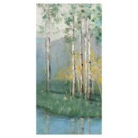 Birch Reflections IV 17-Inch x 34-Inch Wrapped Canvas Wall Art