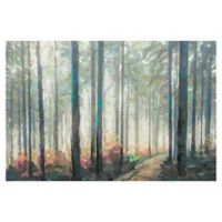 Studio Arts 24-Inch x 36-Inch Woodland Journey Wrapped Canvas Wall Art
