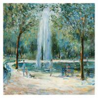 Marysia Burr Parisian Afternoon III 20-Inch x 20-Inch Canvas Wall Art