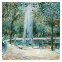 Marysia Burr Parisian Afternoon III 24-Inch x 24-Inch Canvas Wall Art
