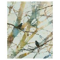Carol Robinson Botanical Birds II 16-Inch x 20-Inch Canvas Wall Art