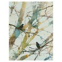 Carol Robinson Botanical Birds II 18-Inch x 24-Inch Canvas Wall Art