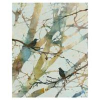 Carol Robinson Botanical Birds II 22-Inch x 28-Inch Canvas Wall Art