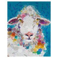 Elizabeth St. Hiliare Sheep Size 22-Inch x 28-Inch Wrapped Canvas Wall Art