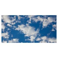 Masterpiece Art Gallery Sky Blue II 17-Inch x 34-Inch Canvas Wall Art
