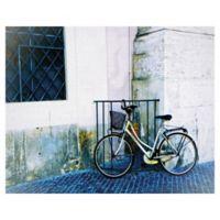 Graff-Tee Studio Biking in Italy 16-Inch x 20-Inch Canvas Wall Art