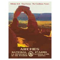 Masterpiece Art Gallery Arches 30-Inch x 40-Inch Canvas Wall Art