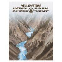Masterpiece Art Gallery Yellowstone 30-Inch x 40-Inch Canvas Wall Art