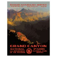 Purple Moose Basics Grand Canyon II 22-Inch x 28-Inch Landscape & Nature Wrapped Canvas