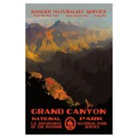 Purple Moose Basics Grand Canyon II 24-Inch x 36-Inch Landscape & Nature Wrapped Canvas