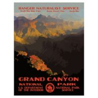 Purple Moose Basics Grand Canyon II 30-Inch x 40-Inch Landscape & Nature Wrapped Canvas