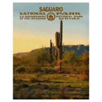 Masterpiece Art Gallery Saguaro 22-Inch x 28-Inch Canvas Wall Art