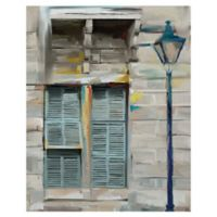 Masterpiece Art Gallery Bridgetown 22-Inch x 28-Inch Canvas Wall Art