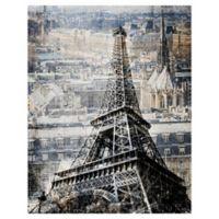 Masterpiece Art Gallery Paris Cityscape 22-Inch x 28-Inch Canvas Wall Art