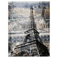Masterpiece Art Gallery Paris Cityscape 30-Inch x 40-Inch Canvas Wall Art