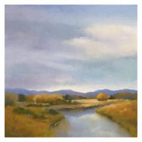 Riverside 24-Inch Square Canvas Wall Art