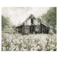 Dandelion Barn 22-Inch x 28-Inch Canvas Wall Art