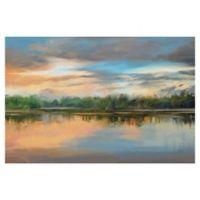 Lakeside Light 24-Inch x 36-Inch Canvas Wall Art