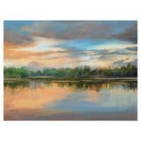 Lakeside Light 30-Inch x 40-Inch Canvas Wall Art