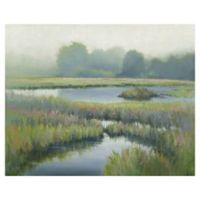 Morning at Edmund's Marsh 22-Inch x 28-Inch Canvas Wall Art