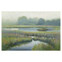Morning at Edmund's Marsh 24-Inch x 36-Inch Canvas Wall Art