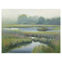 Morning at Edmund's Marsh 30-Inch x 40-Inch Canvas Wall Art