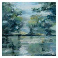 Lakeside Vista 35-Inch Square Canvas Wall Art