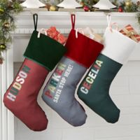All Mine Personalized Christmas Stocking