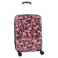 Isaac Mizrahi Harley 29-Inch 8-Wheel Hardside Spinner Checked Luggage in Black
