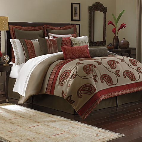 Bombay Bali 4 Piece Comforter Set Bed Bath Amp Beyond