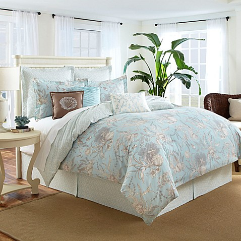 Sea Cottage 3 4 Piece Comforter Set Bed Bath Amp Beyond