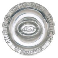 Arthur Court Designs University of Arkansas Chip and Dip Bowl