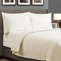 Millano Collection 250-Thread-Count Organic Cotton King Sheet Set in Ivory