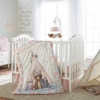 Levtex Baby® Malia 4-Piece Crib Bedding Set in Pink/Blue