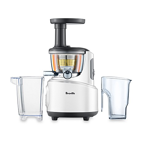 Slow Juicer Bed Bath And Beyond : Breville Juice Fountain Crush - Bed Bath & Beyond