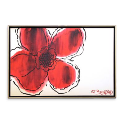 the flower without 26 inch x 38 inch wall art