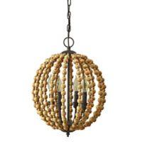 Bee & Willow™ Home Octavia Beaded Light Chandelier in Natural