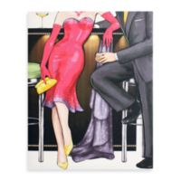 Vintage Fashion 16-Inch x 20-Inch Wall Art