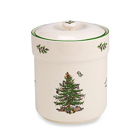 Spode® Christmas Tree 6-Inch Sweet Jar with Lid