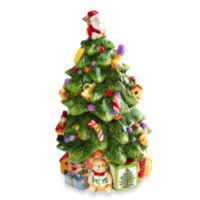 Spode® Christmas Tree 12-Inch Tree-Shaped Cookie Jar