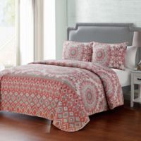 VCNY Home Phoebe Reversible Full/Queen Quilt Set