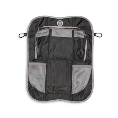 prince lionheart backseat organizer in blackgrey