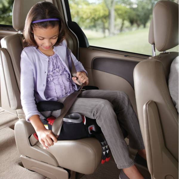 Graco Affix Backless Booster Seat with Latch System in Davenport
